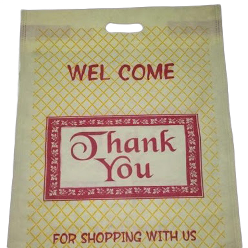Non Woven D Cut Printed Shopping Bags