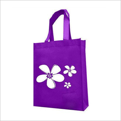 With Handle Non Woven Printed Shopping Bags