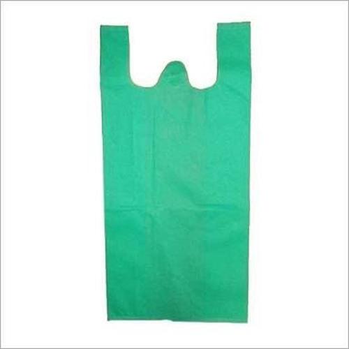 Non Woven Green W Cut Bags