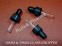 18 MM & 19 MM GLASS DROPPER