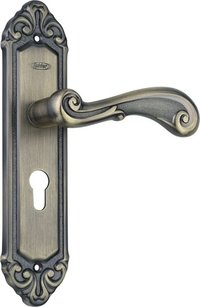 Spider Aluminium Steel mortise lock (IAL507MAB)