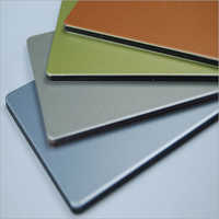 Plain Aluminium Composite Panel Sheet