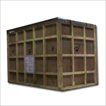Industrial Heavy Wooden Packaging Box