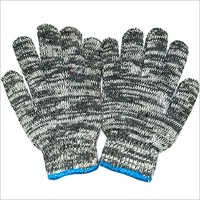 7 Gauge Colored Cotton Knitted Gloves
