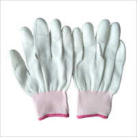 13 Gauge Polyester PU Finger Coated Gloves