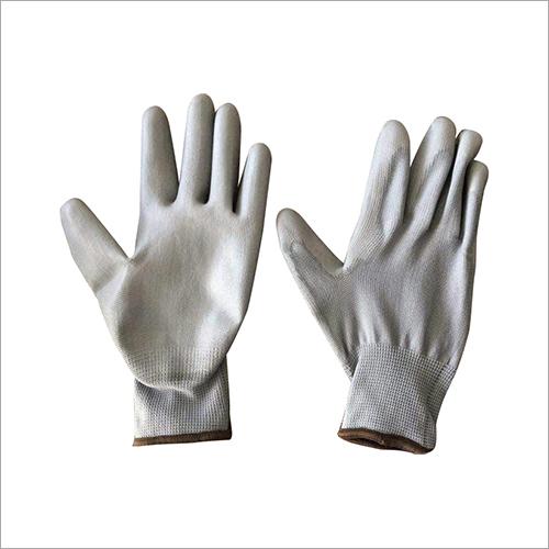 13 Grey Gauge Polyester PU Coated Gloves
