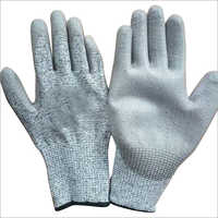 HPPE Liner PU Coated Cut Resistant Gloves