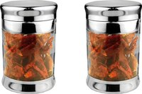 Stainless Steel Tea/Coffee/Sugar Set Of 2