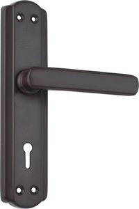 spider steel Mortise Lock (S606M BR)