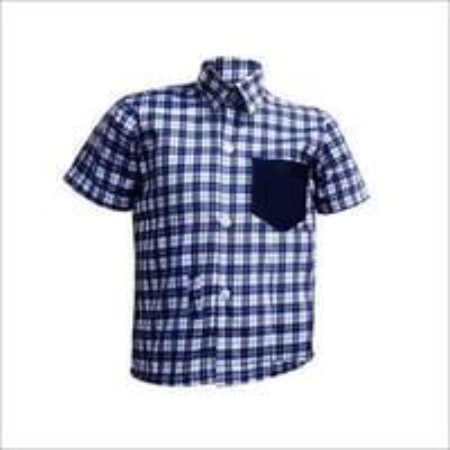School Checked Shirt