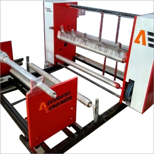 Semi Automatic Center Shaft Slitting Machine