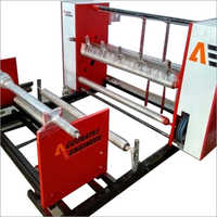 Semi Automatic Center Shaft Slitting Machine
