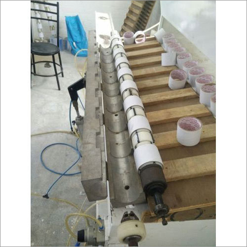 Semi Automatic Paper Core Loader Machine