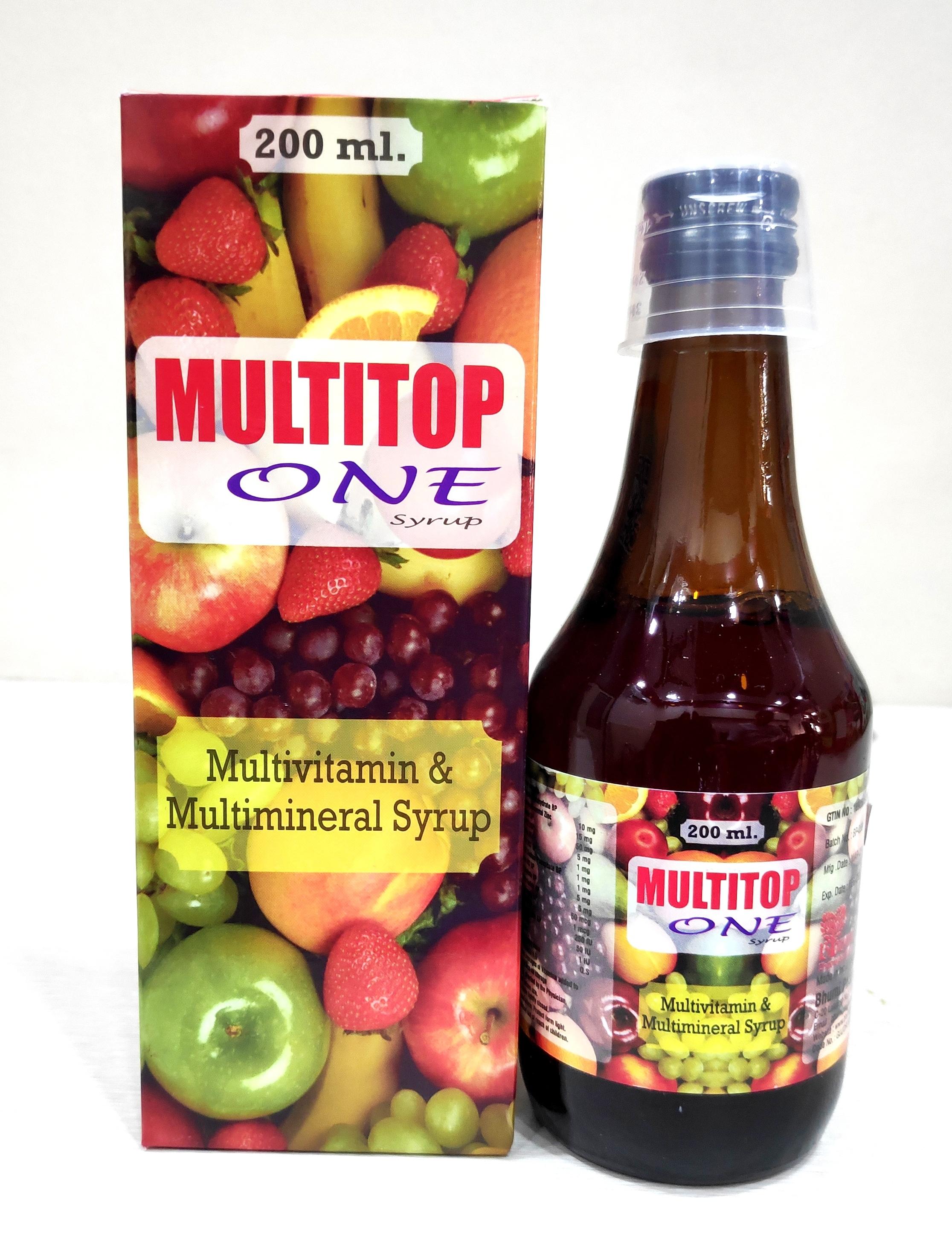 Multivitamin & Multimineral  Syrup