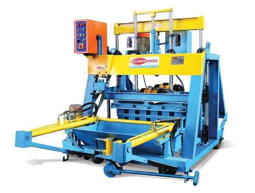 Hydraulic Operated Hollow Solid Concrete Block Making Machine