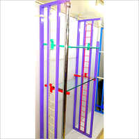 Steel  Partition Display Rack