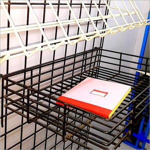Metal Wire Display Stand Basket