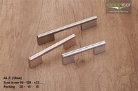 Polished cabinet handles