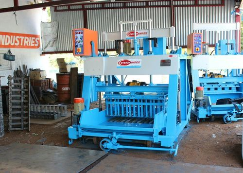 Semi Automatic Hollow Block Machine