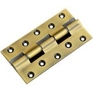 Slow Movement Brass Railway Hinges