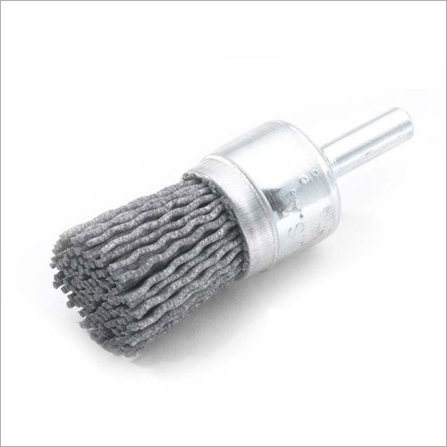 Nylon Abrasive End Brushes With Bridle