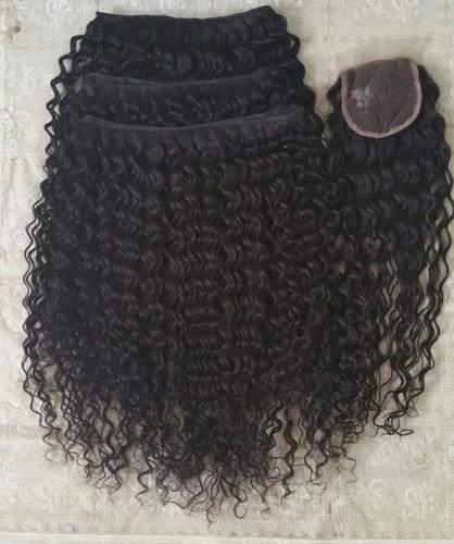 Steam Deep Curly Hair , Cuticle Aligned Hair