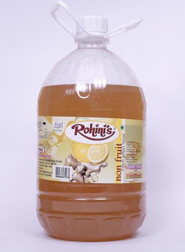 Lemon ginger syrup 5 ltr