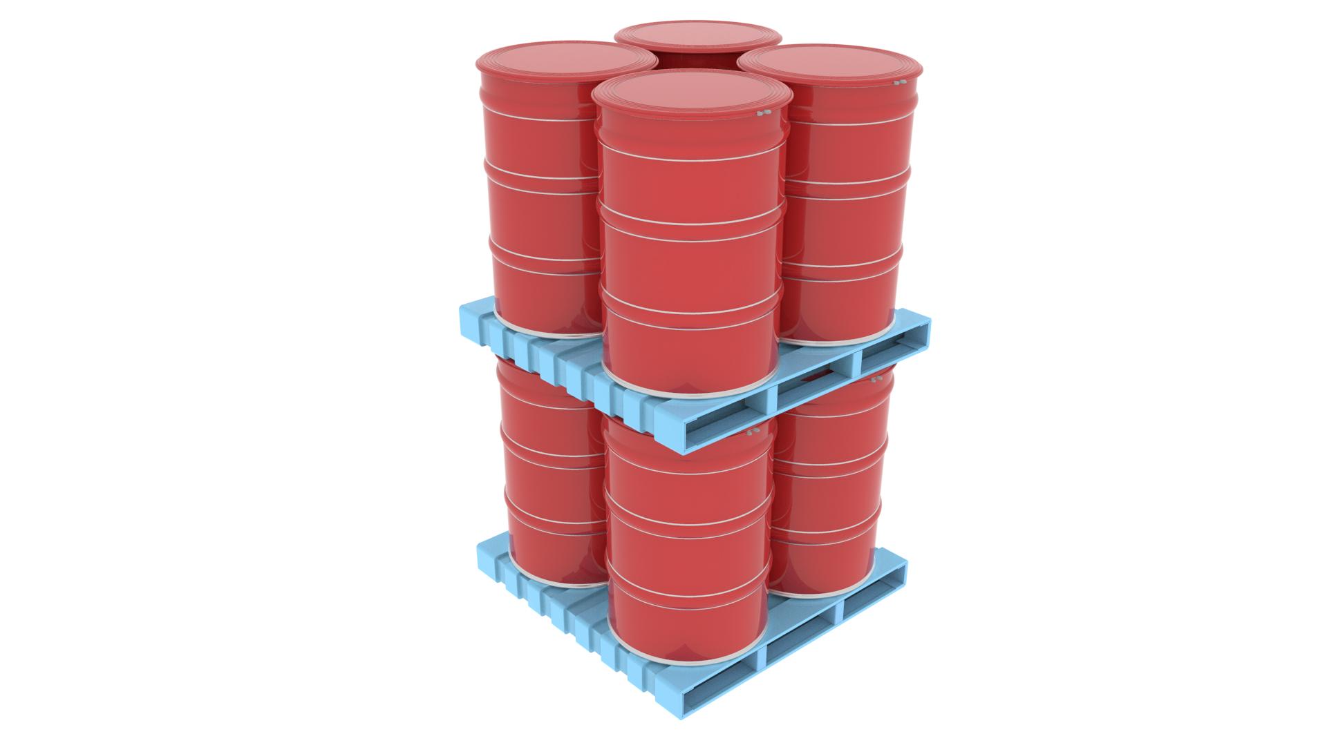 Steel Pallet - Double Deck