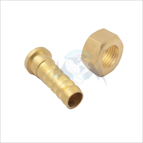 BRASS NUT NIPPLE SET