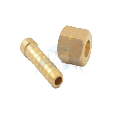 BRASS SPRAYGUN NUT NIPPLE