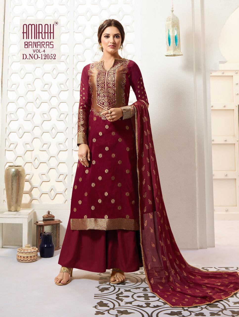 Banarasi silk salwar kameez