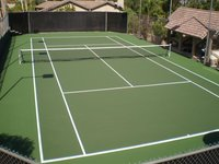 Synthetic Courts Floor