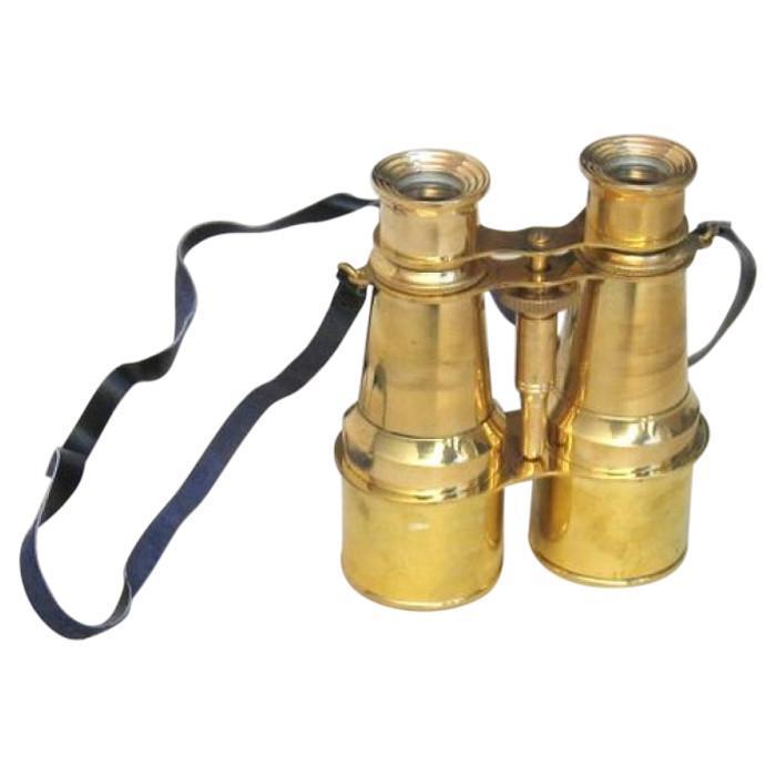Brass Binocular