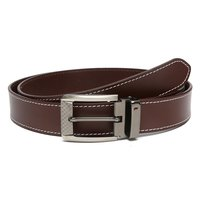Men's Brown Leather Combo Set