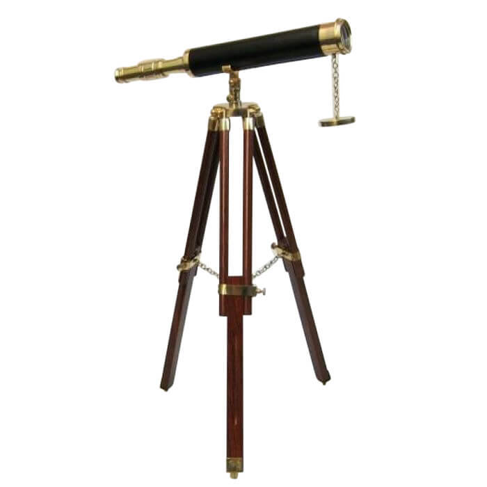 Harbour Master Telescope Black Antique