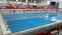 Semi Olympic Swimming Pool Construction.