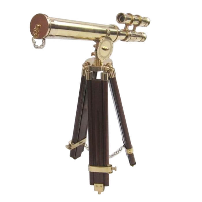 Griffith Telescope With Wooden Stand