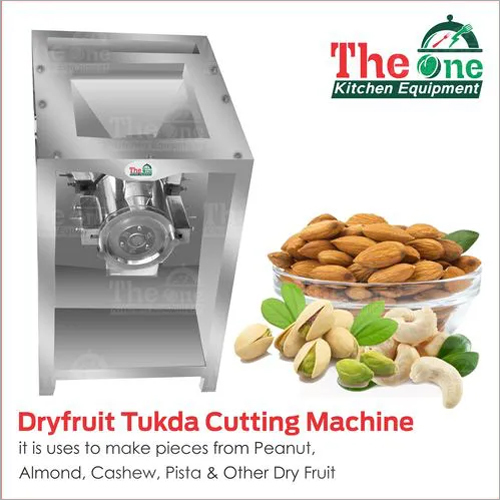DRY FRUIT TUKDA MACHINE