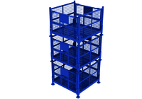 Collapsible Cage Bin