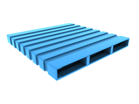 Reversible Type Steel Pallet
