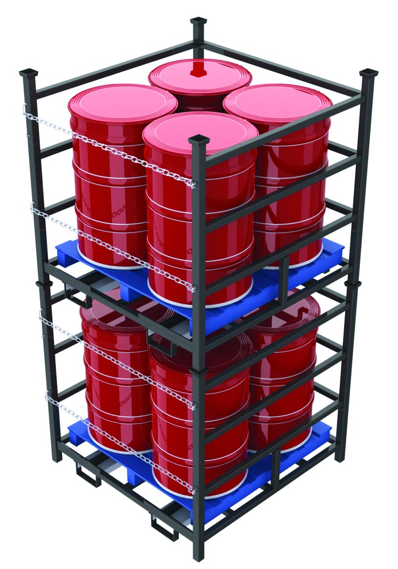 Drum Pallet Vertical Storage