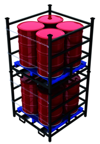 Drum Pallet Vertical Storage