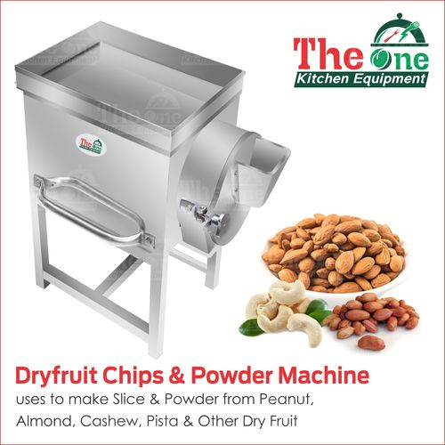 DRY FRUIT CHIPS & POWDER MACHINE