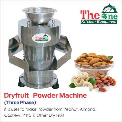 DRY FRUIT POWDER MACHINE