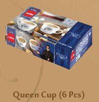 CELLO DAZZLE Hot Drink-Queen Cup Medium Set 6 pcs