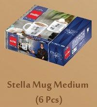 CELLO DAZZLE Hot Drink-Stella Mug Medium 6 pcs