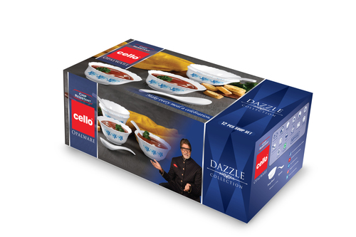 CELLO DAZZLE Soup Set 12 pcs