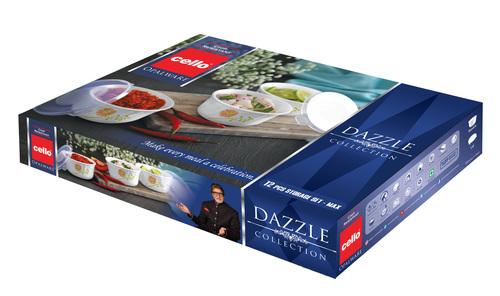 CELLO DAZZLE Storage Set Max Combination 12 pcs
