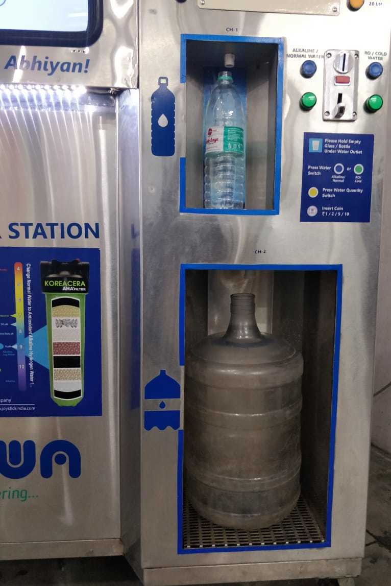Coin And Card Operated Alkaline Water Vending Machines - Coin And