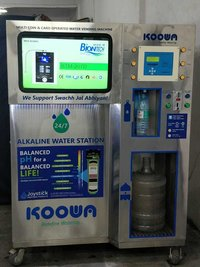 Coin And Card Operated Alkaline Water Vending Machines